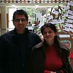 El Dr. Cristóbal Suárez y la Dra. Lucrecia Chumpitaz Campos en la Universidad de Valencia