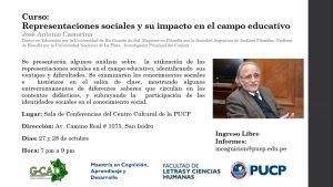 Representaciones sociales y su impacto en el campo educativo