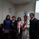Susana Frisancho, Alejandro Paati, Susy Díaz, Benigno Vicente y Enrique Delgado